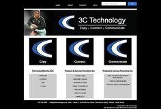 Website Designed for 3C Technology, Konica Minolta KZN - http://www.3ctechnology.co.za/
