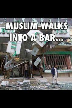 bar blows up