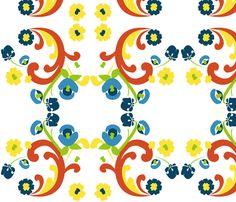 Modern-Scandinavian fabric by heatherrothstyle on Spoonflower - custom fabric