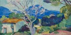 Henri Manguin (France 1874-1949) Almond Trees in Blossom (1907)