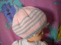 ef23f062afb Ensemble Bonnet Bébé + Une paire de Chaussons bébé   Mode Bébé par l-atelier