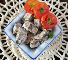 Fried eggplant appetizer
