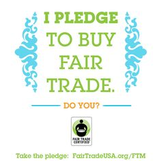 Do you support the farmers and workers who grow and make the products you love? Take the pledge and repin this!