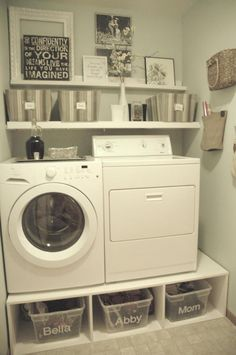 27 Inspirations Small Laundry Room Makeovers Ideas #LaundryRoomIdeas