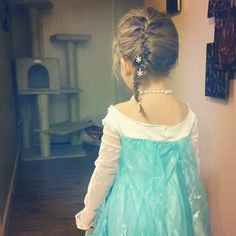 elsa braid for toddler