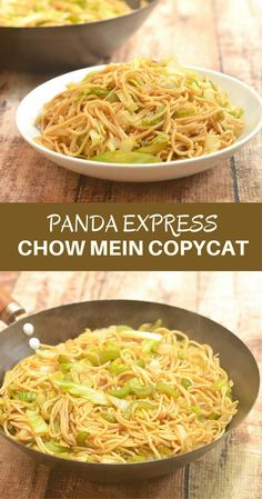 Panda Express Chow Mein Copycat is ready in minutes and uses easy to find ingredients Forget take-out recreate the restaurant flavors you love cheaper and better at home Easy Family Meals, Easy Meals, Panda Express Chow Mein, Chinese Cooking Wine, Asian Cooking, Chinese Food, Asian Recipes, Ethnic Recipes, Chinese Recipes