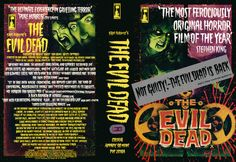 The Dropped 33 - The Evil Dead (1981) VHS Cover 3
