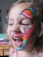Kristin Lee's face painting