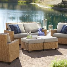 Delightful Summit Collection Oversize Loveseat | Seating U0026 Lounge | Patio Furniture |  Outdoor Living | Outdoor