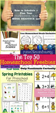 Homeschool Freebies! The BEST Freebies for Homeschooling of the Past Month!