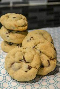 Chocolate Chip Pudding Cookies, says there isn't much of a taste difference, but they are really soft.  I love soft cookies!