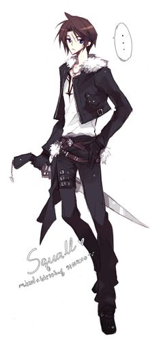 FF8: Squall by mixed-blessing.deviantart.com on @deviantART