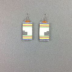 Hudson Bay Point Blanket Earrings