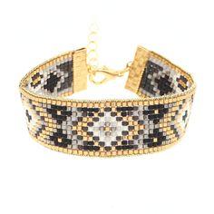 """Le bracelet en Kit """"Ispahan"""" a eu un tel succes que l'on a choisi de vous proposer une une 3ème couleur. Un métier à tisser, nos instructions ,de la patience et voila !"""