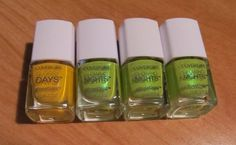 Cover Girl Outlast Stay Brilliant Glossy Days & Glowing Nights 4pc. Lot NEW #CoverGirl #NailProducts