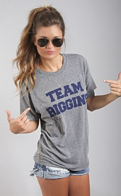 "team riggins tee--get 15% off + Free Shipping w/code ""RiffraffRepLauren"" at checkout on ShopRiffraff.com!"