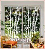 Big Bamboo See Through Window Film
