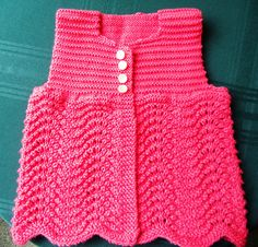 Ravelry: Project Gallery for Angel Sweater for Baby pattern by Annie Dempsey