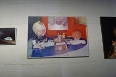 Rasmus Nora: Tulevaisuus, 2016, öljy 110x70 cm - Kuvan Kevät 2016