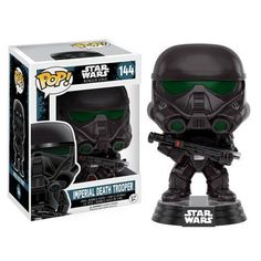 Star Wars Rogue One Imperial Death Trooper Pop! Vinyl : Someone is on a mission to steal the plans for the Death Star. Choose your side with the Star Wars Rogue One Imperial Death Trooper Pop! Vinyl B Rogue One Star Wars, Star Wars Collection, Pop Collection, Pop Vinyl Figures, Doctor Strange, Death Trooper Rogue One, Tema Star Wars, Figuras Star Wars, Statues