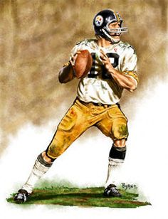 Terry Bradshaw Pittsburgh Steelers 11x14 Lithograph: others products online from Sportsblink.com