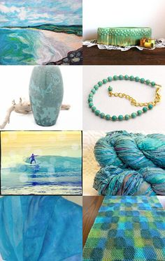 Sea Colours by Dianna on Etsy--Pinned with TreasuryPin.com
