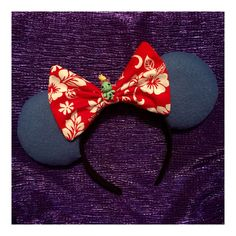 Hey, I found this really awesome Etsy listing at https://www.etsy.com/listing/251425625/lilo-stitch-inspired-mouse-ears-minnie