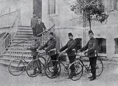adana osmanlı zamanı bisikletli polisler