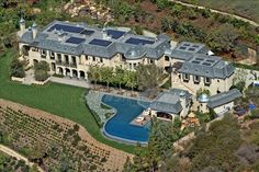 Celebrity Homes That Will Blow Your Mind. Gisele Bündchen and Tom Brady's home.