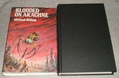 Blooded on Arachne by Michael Bishop, Arkham House 1982  1st Edition Collectible