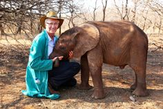 Animal Orphans host Paul O'Grady: 'I was so tempted to keep Nkala! Tv Episodes, Bbc Radio, Orphan, Baby Elephant, National Geographic, Picture Quotes, Love Of My Life, Wildlife, Creatures