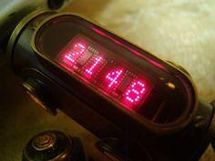 Real Time Clock, Time Wasters, Nixie Tube, Cool Tech, Fun Time, Arduino, Arts And Crafts, Printing, Hacks