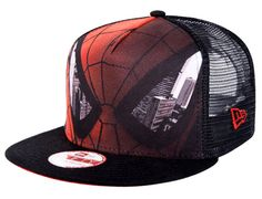 Sub Front Face Spiderman 9Fifty Snapback Cap by NEW ERA x MARVEL