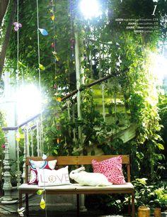 Love your home - Habitat Spring/Summer edition, Joanie love cushion and Joanie plate cushion by Ella Doran