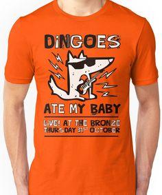 Dingoes Ate My Baby   Buffy The Vampire Slayer Band T-shirt Unisex T-Shirt