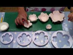 Como Fazer Uma Flor De Peônia Fácil Por Le Beau Cake . - YouTube