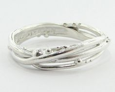Birds Nest (this would be gorgeous as a wedding band) $98
