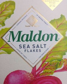 """""""Curious crystals of unusual purity, loved by chefs the world over"""" #wordsinpackaging #packagingdesign"""