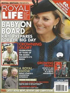 Royal Life magazine Kate Middleton Queen Elizabeth Prince Charles Coronation