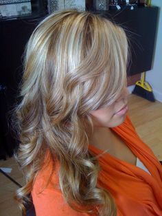 blonde highlights by Lanisa Godlove