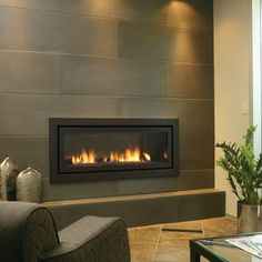 Gas fireplaces and inserts