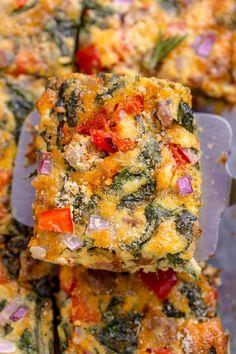 Easy Overnight Italian Breakfast Casserole - Baker by Nature