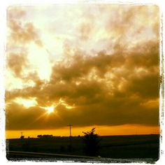 Intense sky