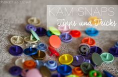 Vervliest und zugenäht: Kam Snap Tipps oder wie entferne ich Kam Snaps {Tutorial}
