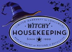 Another Witchy Housekeeping post, this is a list of tid-bits that I find useful in aiding the Domestic Witch in creating a comfortably w...