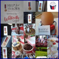 Cake by Nathalie Andrieu from France entered into our 2014 Colossal Cake Sale Best-looking Cake for a Hero Competition, sponsored by Whitworths Sugar