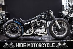 For the past few days, the center of the custom universe has been in Japan, at the the Mooneyes Yokohama Hot Rod Custom Show. Guy Bolton of Greasy Kulture magazine was asked to present an award, and this is the bike he chose. It's long and low and dark, and it's called Night Sky Bobber.…