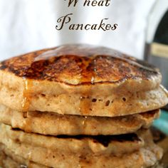 Whole Wheat Pancakes | How to be Awesome on $20 a Day