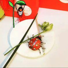Always Cass lady bug brooch pin Red Silk Scarf, Silk Scarves, Bridal Hair Accessories, Fashion Accessories, Jewelry Stores, Jewelry Sets, Women's Brooches, Cubic Zirconia Earrings, Lady Bug