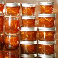 Lots of Seville Blood Orange Marmalade